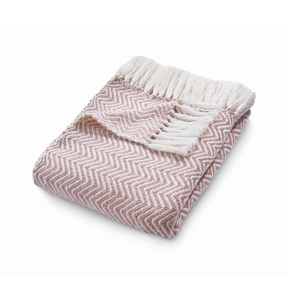 Eco-Friendly Throw, Rose Pink