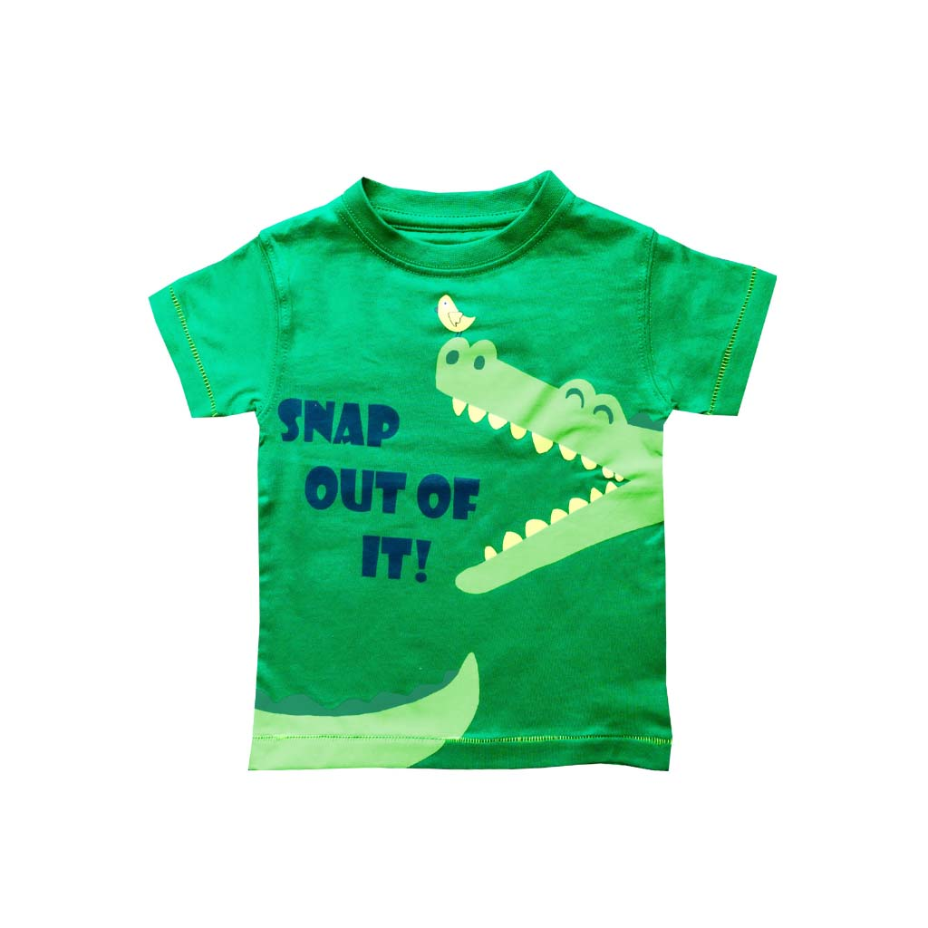 Children's Crocodile T-shirt, 1-2 yrs