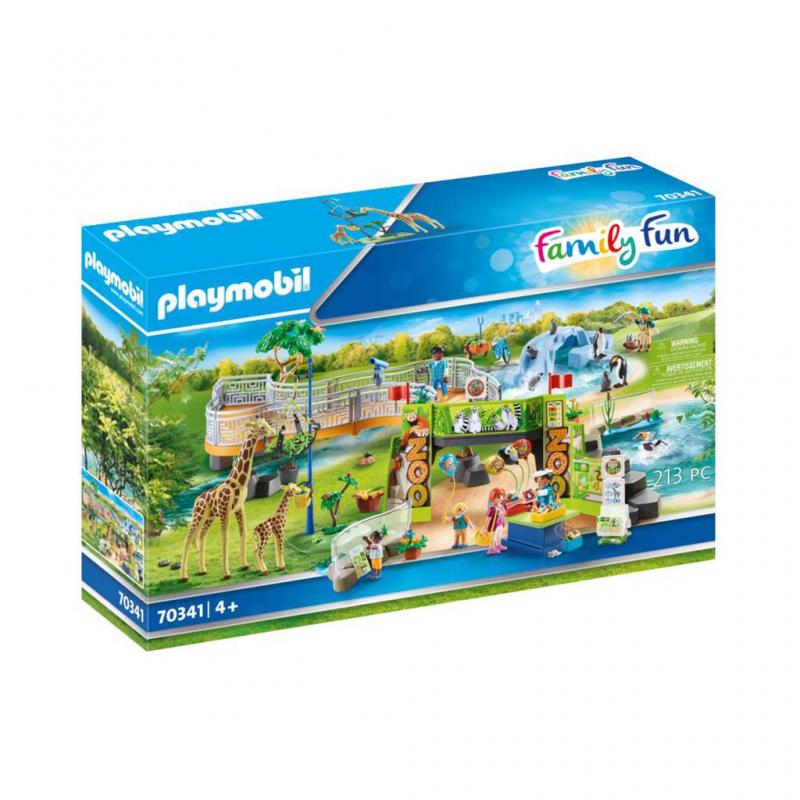 Playmobil City Zoo Play Set