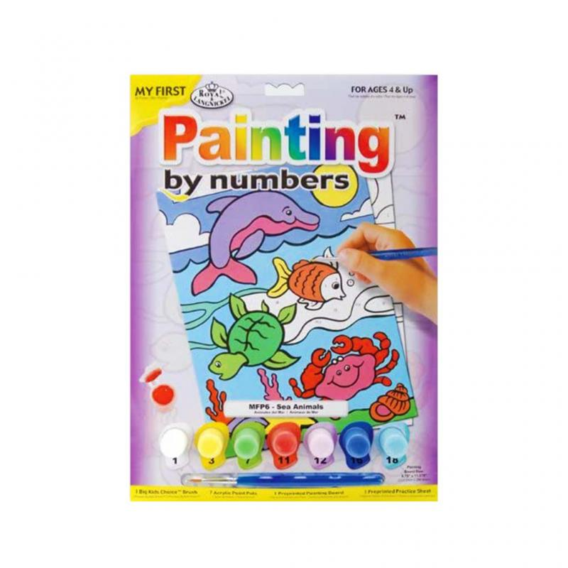 My First Sea life Paint By Numbers Kit