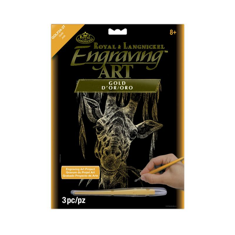 Giraffe engraving kit