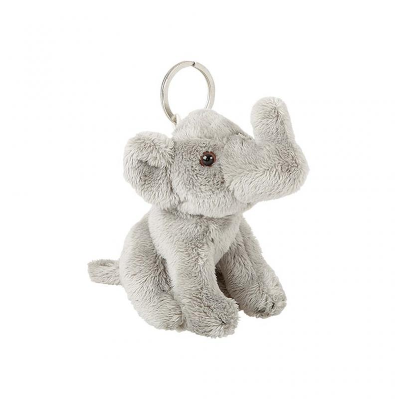 Elephant Soft Keyring, Large