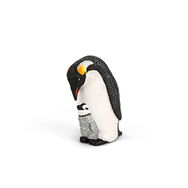 Schleich Emperor penguin and chick figure