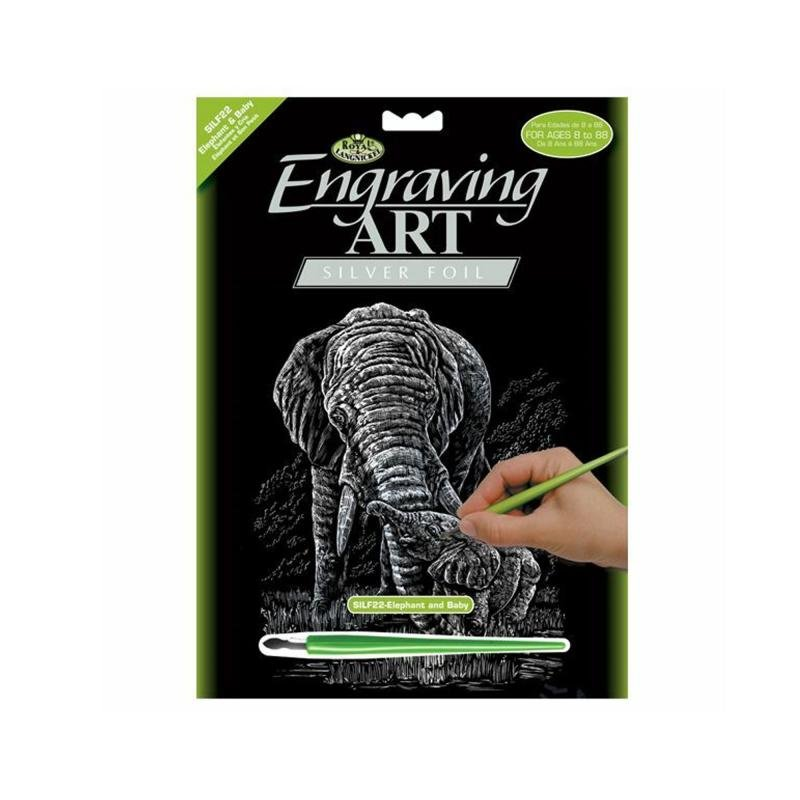 Elephant engraving kit