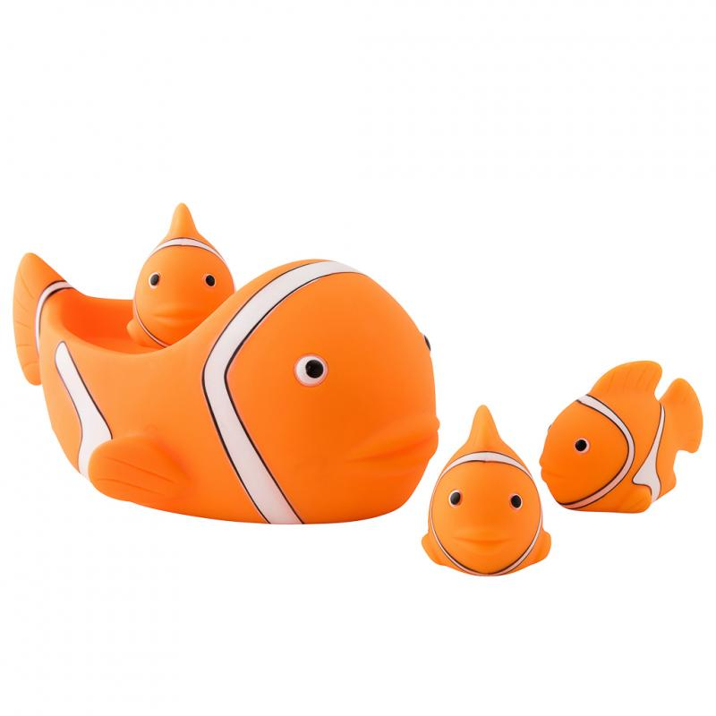 Clownfish bath toy
