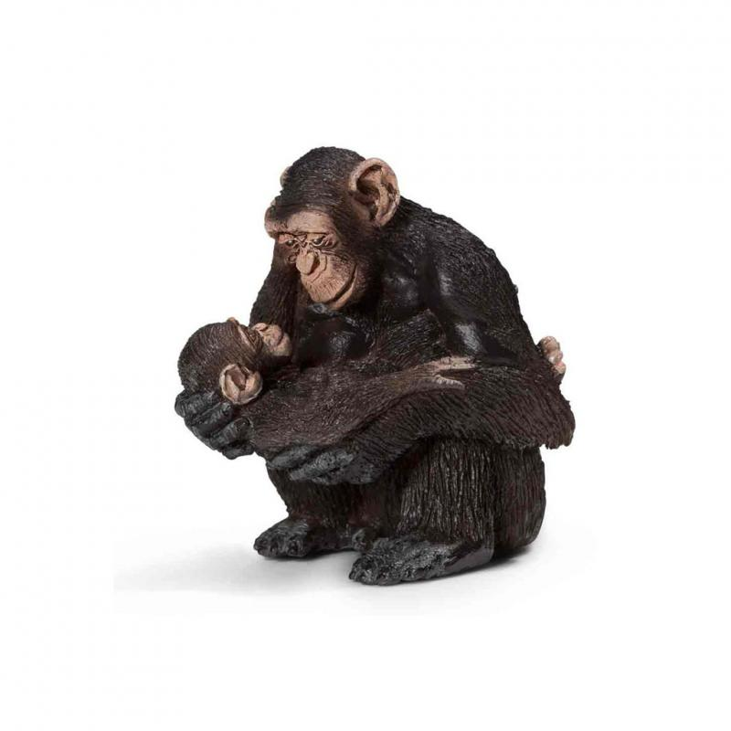 Schleich Chimpanzee and baby