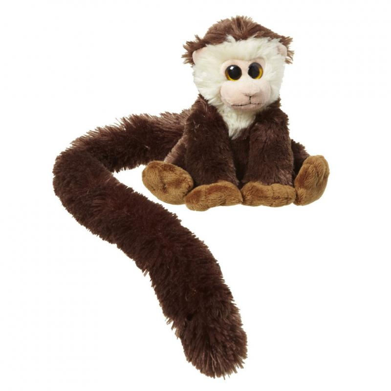 Capuchin monkey soft toy, 16cm
