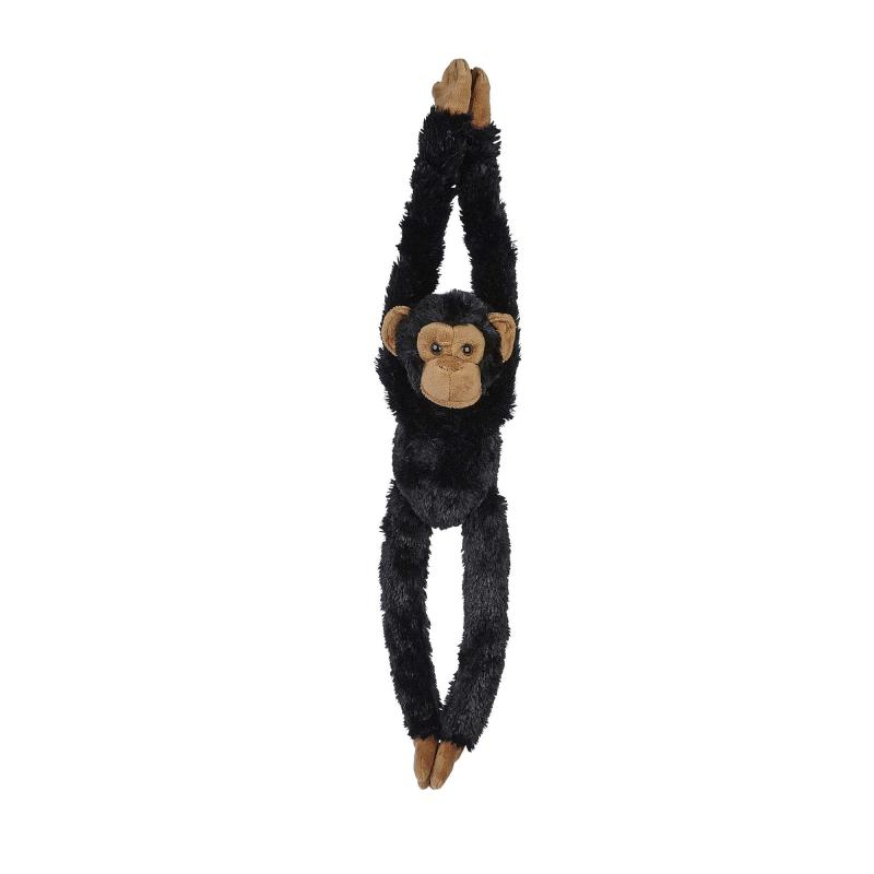 Hanging chimpanzee soft toy