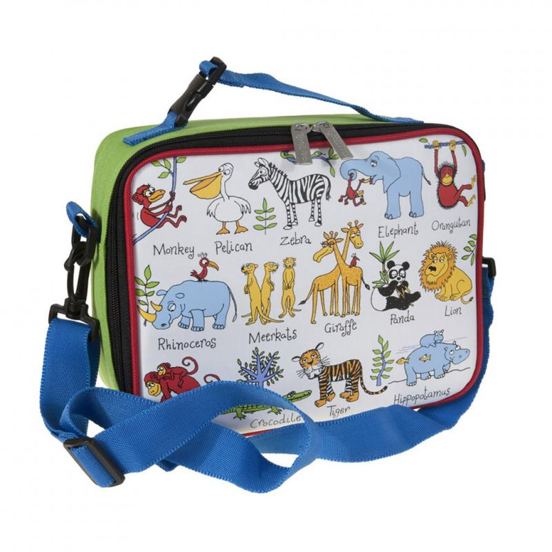 Animal safari lunch bag