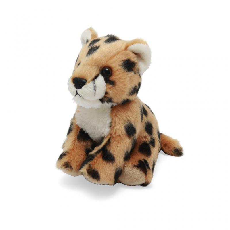 Cheetah soft toy, 20cm