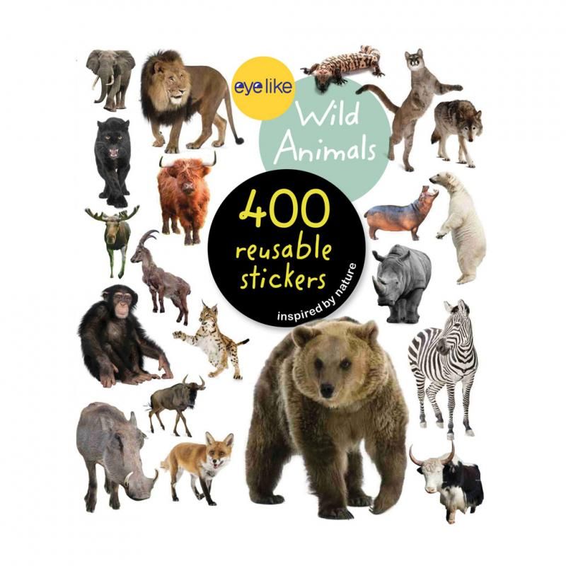 Wild Animals sticker book