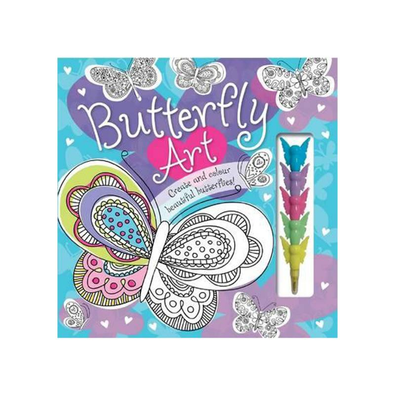 Butterfly art book