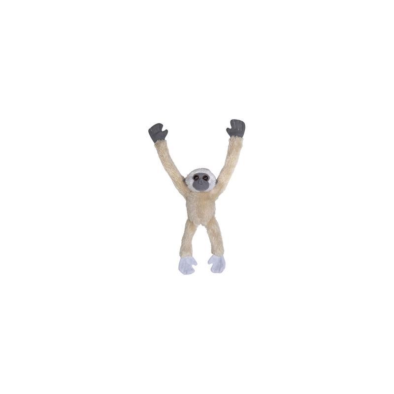 Gibbon Plush Magnet, Cream