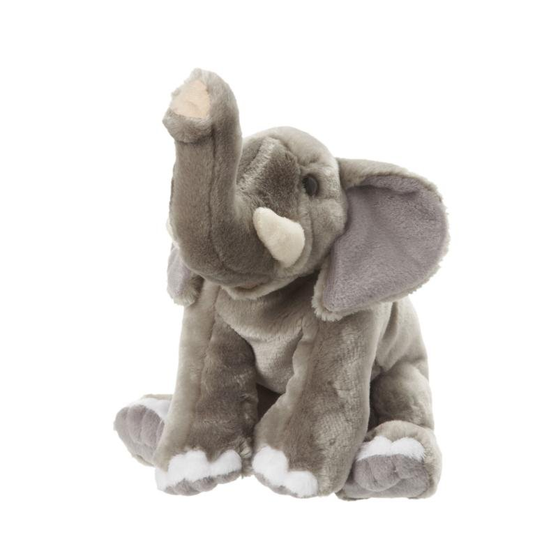 Elephant soft toy, large