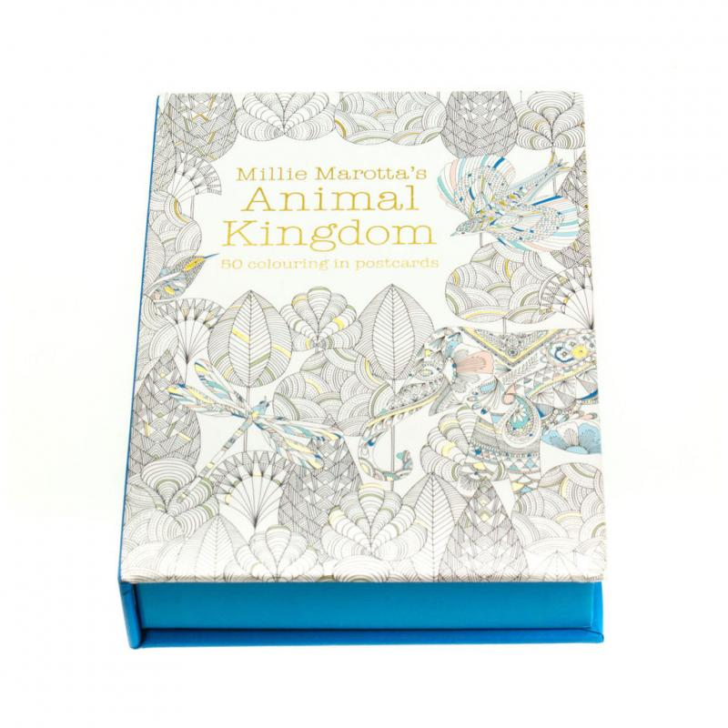 Animal Kingdom Postcard Box