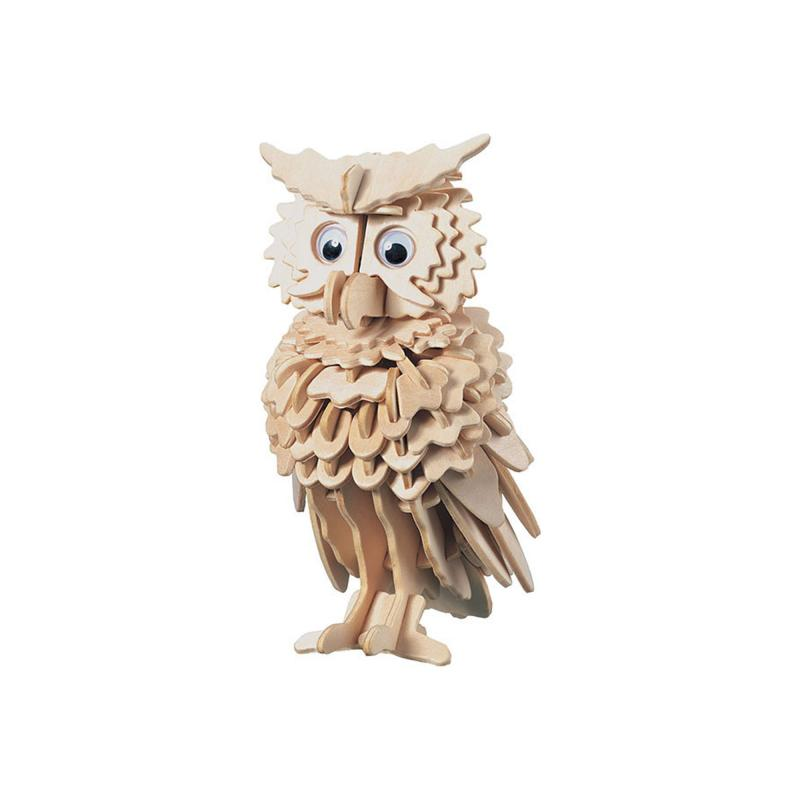 Owl construction kit