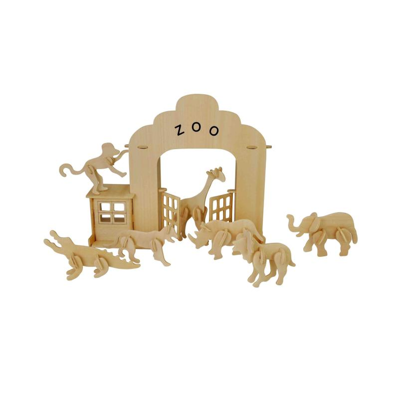Zoo construction kit