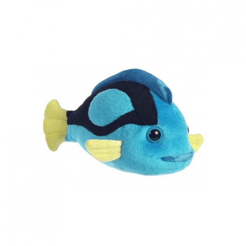 Blue tang soft toy, 20cm