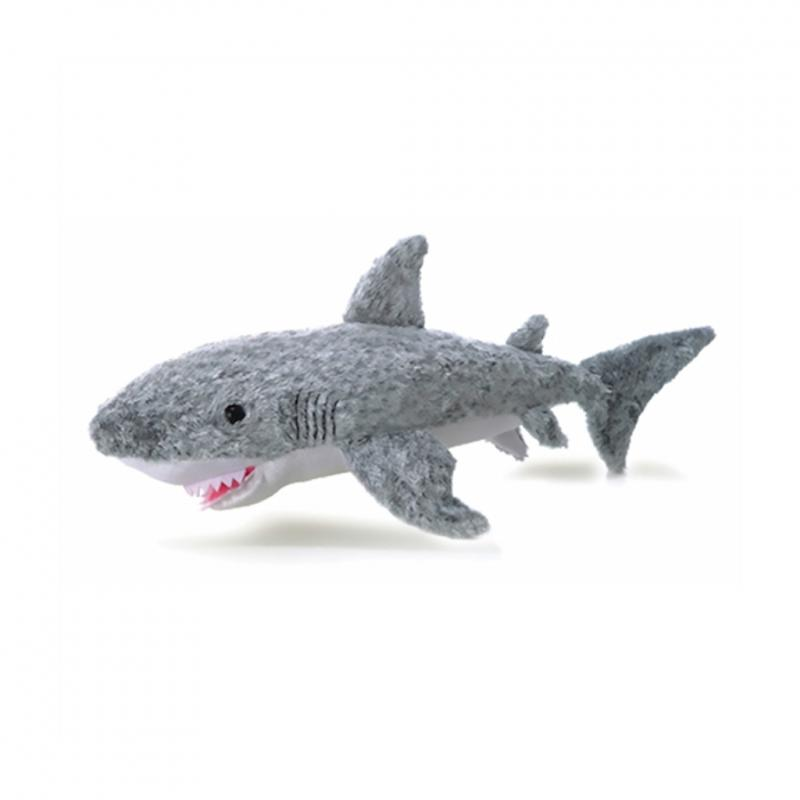 Shark soft toy, 20cm