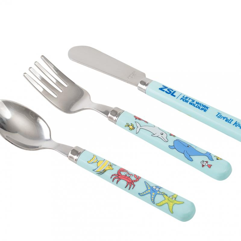 Under the Sea cutlery set