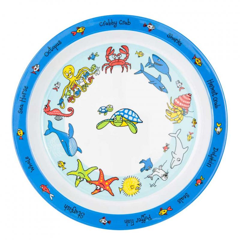 Under the Sea plate