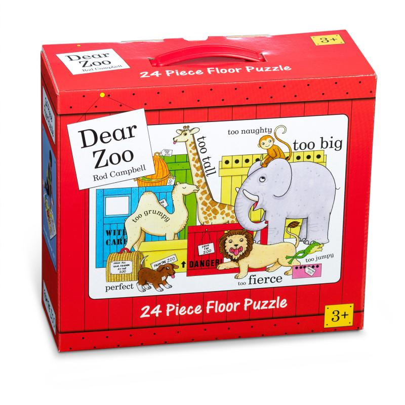 Dear Zoo Floor Puzzle