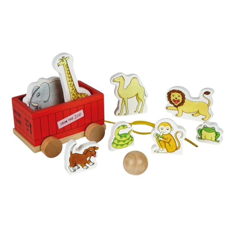 Dear Zoo Wooden Skittles Set