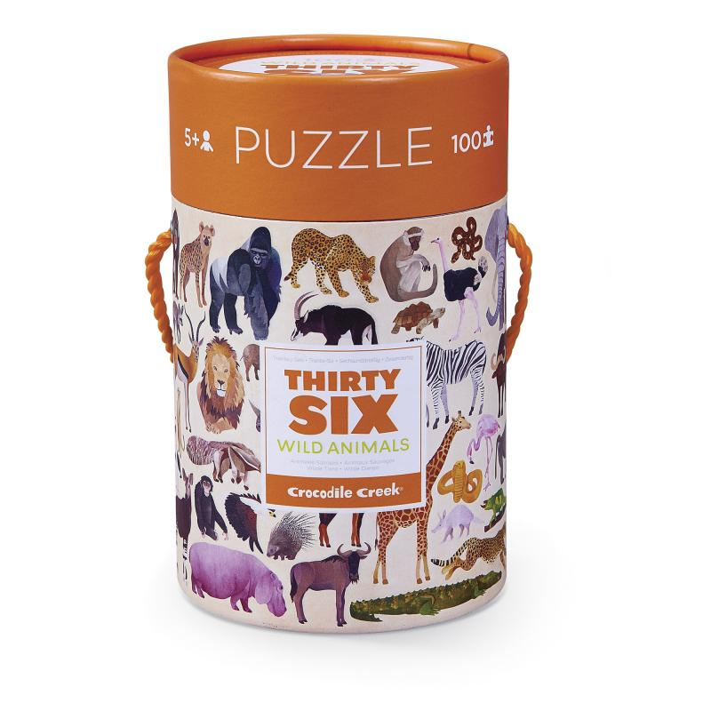 Wild animals jigsaw puzzle