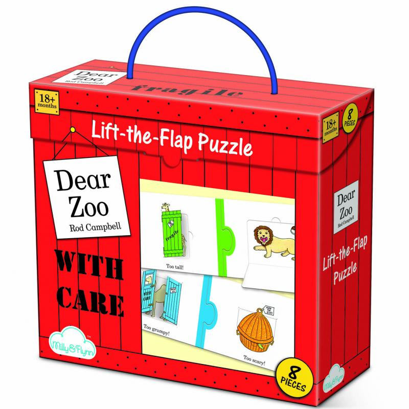 Dear Zoo Lift The Flap Children's Puzzle