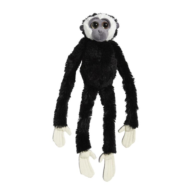 Black gibbon soft toy, 87cm