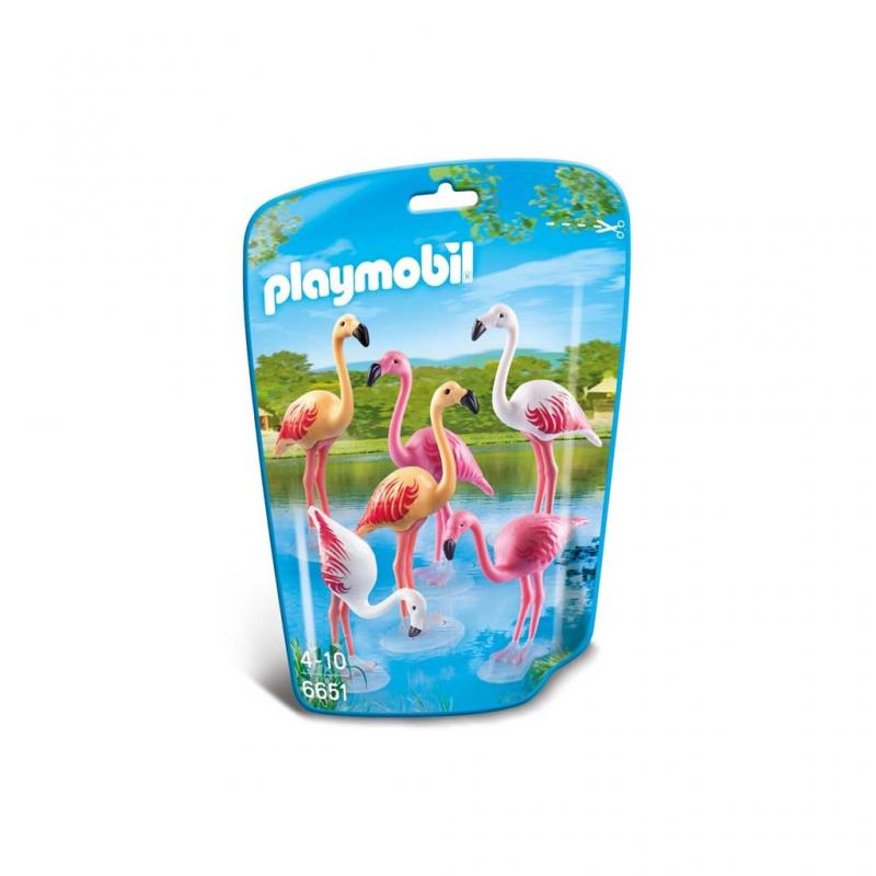 Playmobil Flamingo Figures pouch