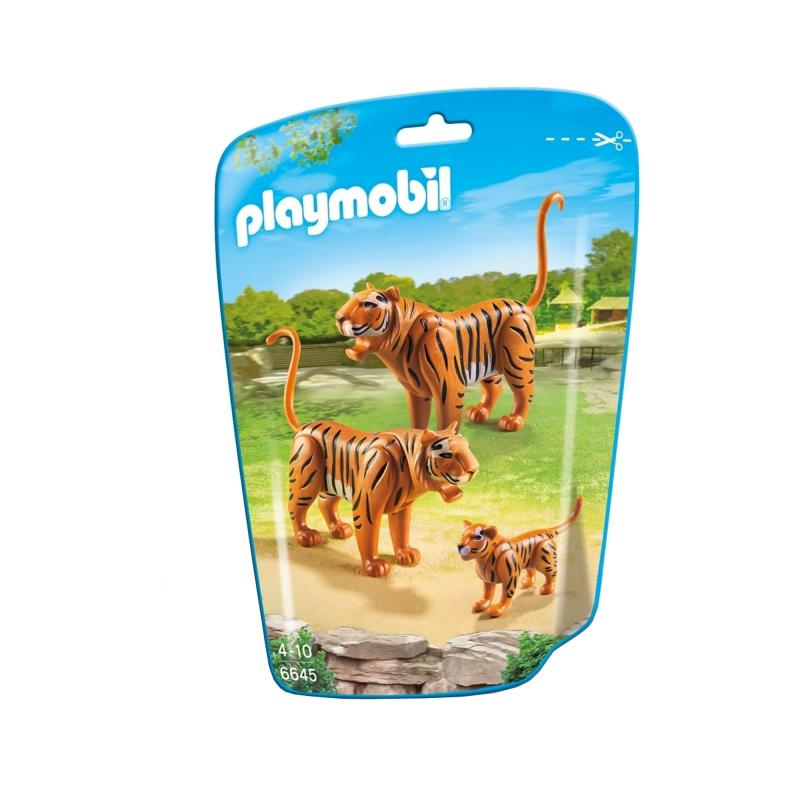 Playmobil tiger figures