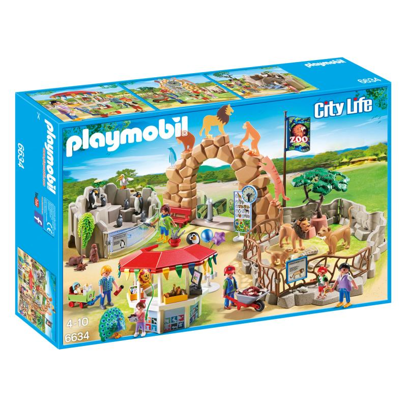 Playmobil Large city zoo play set