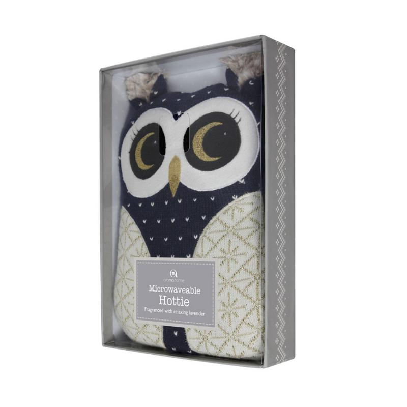 Owl hot water bottle box