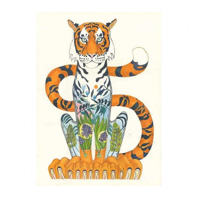 Tiger Greetings card