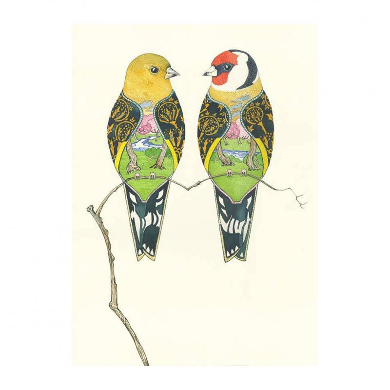 Goldfinch Greetings card
