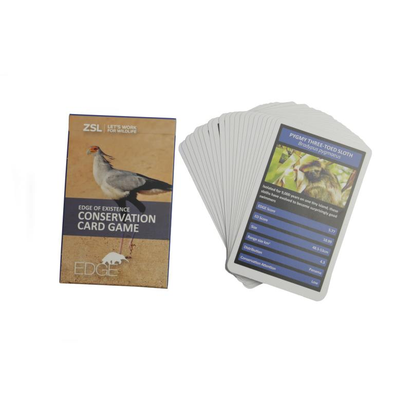 EDGE conservation card game