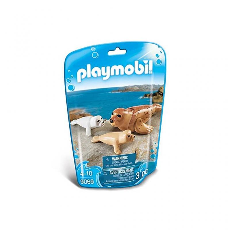 Playmobil Seal Figures pouch