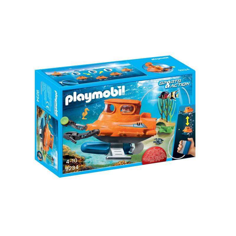 Playmobil submarine