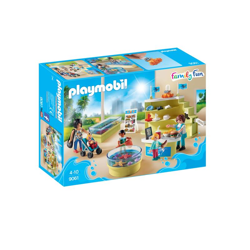 Playmobil Aquarium Gift Shop Play Set