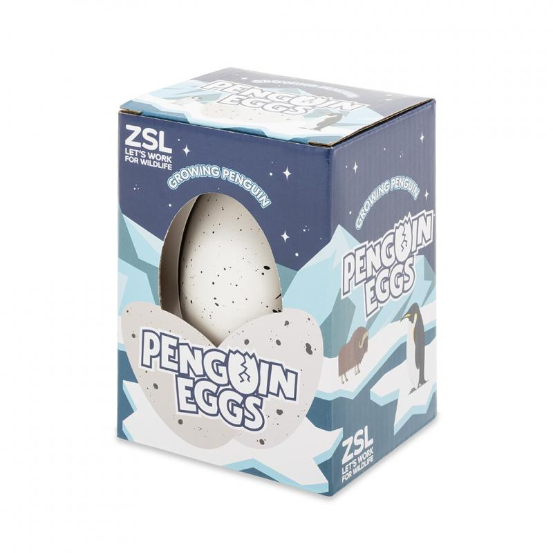 Hatch your own penguin egg
