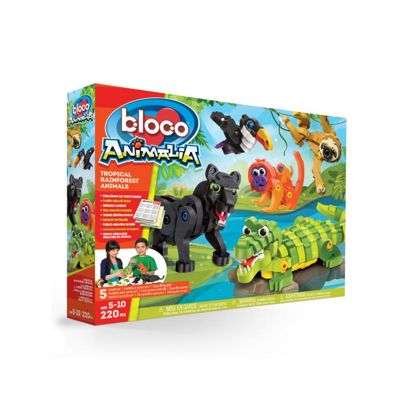 tropical rainforest play set