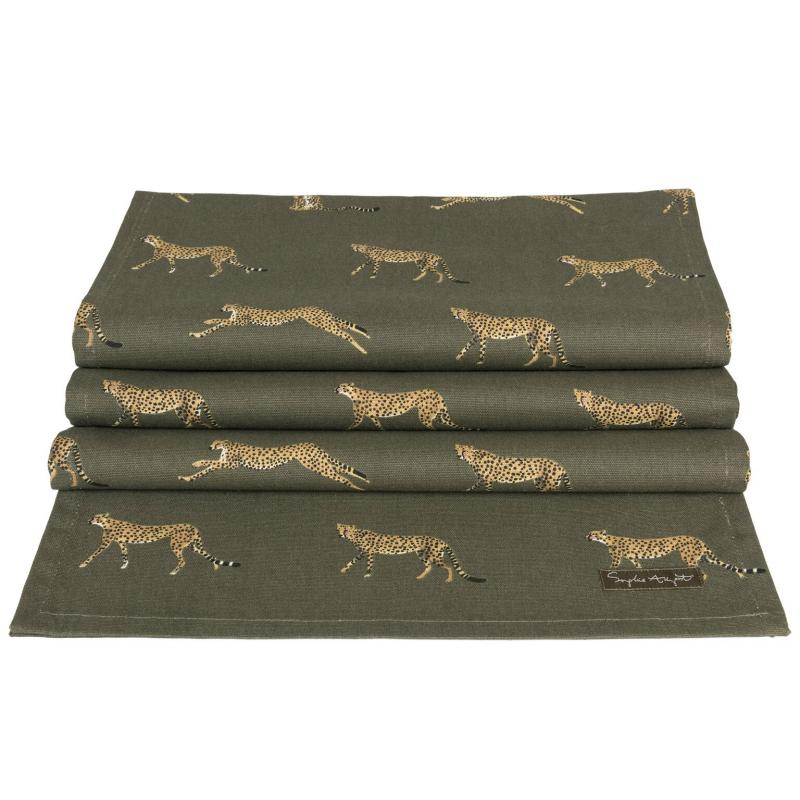 Cheetah Table Runner