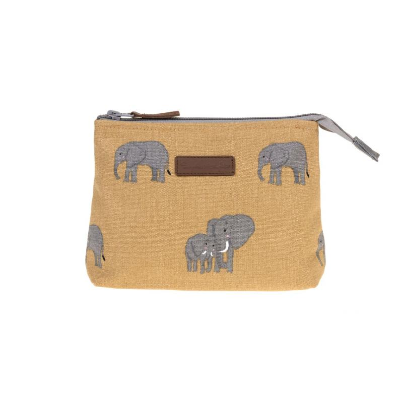 Elephant makeup bag