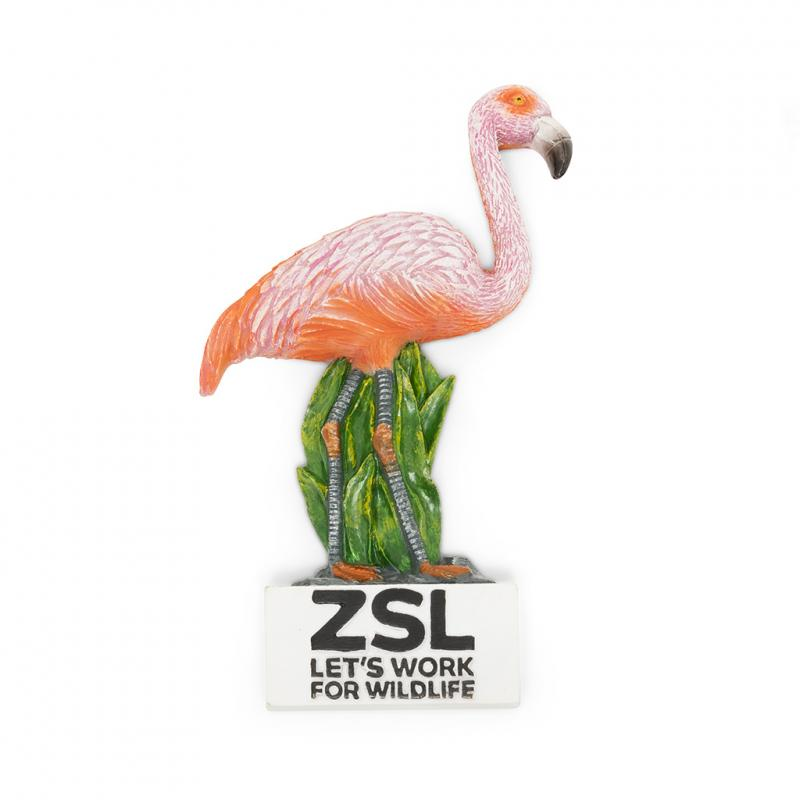 Flamingo Fridge Magnet