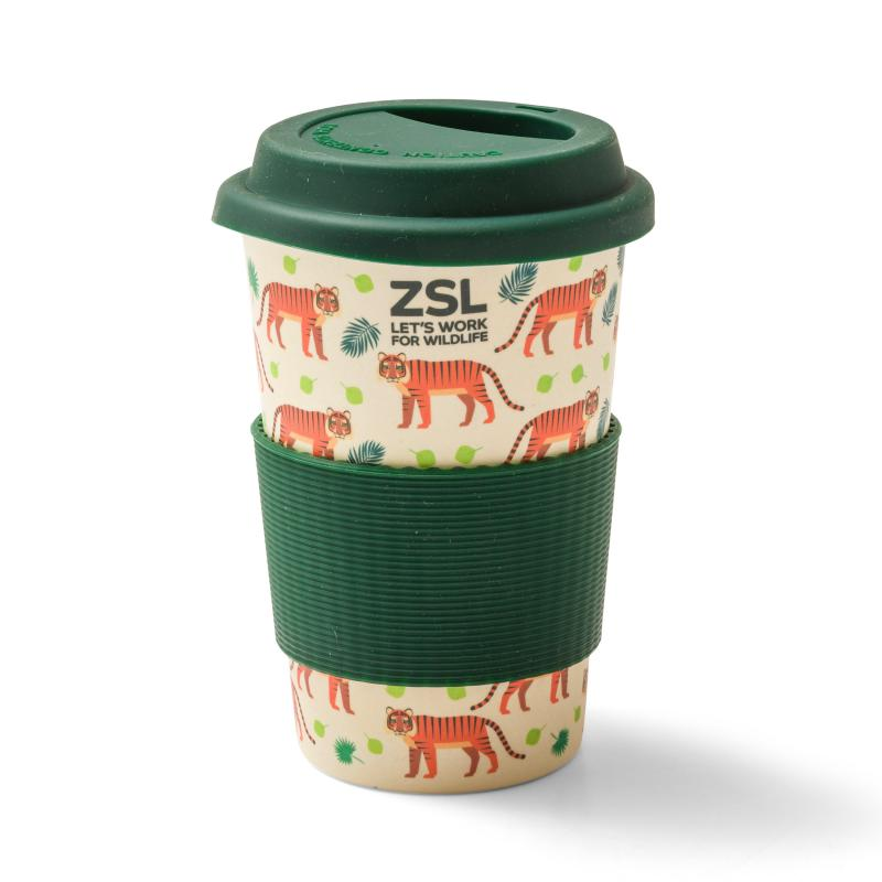 Tiger Bamboo Travel Mug