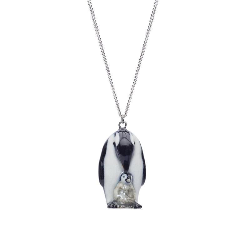 And Mary penguin with chick necklace