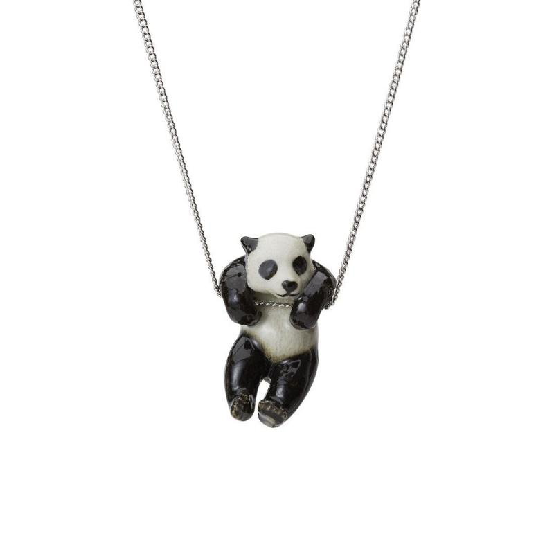 And Mary panda necklace