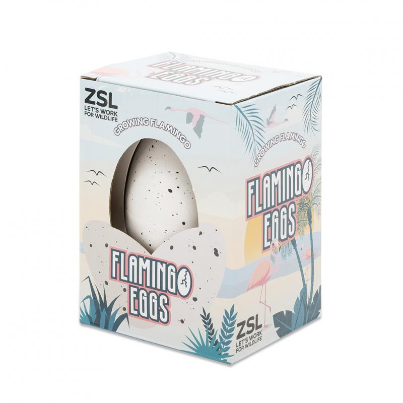 Hatch your own flamingo egg