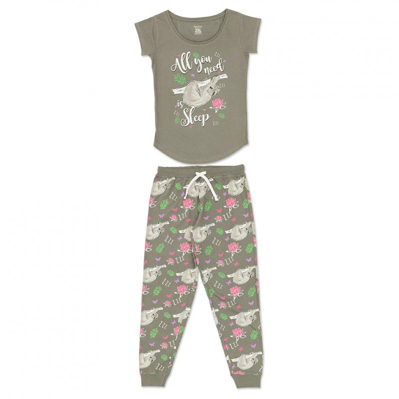 Women's sloth pyjamas